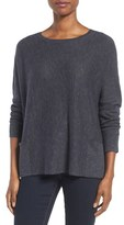 Eileen Fisher Women's Organic Linen & Cotton Slub Knit Pullover