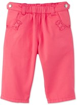 Petit Bateau Baby girl plain twill pants