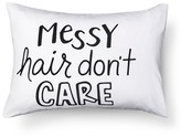 Pillowfort Messy Hair Pillowcase - Standard - White - Pillowfort