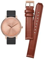 Nixon A1190-2780 Kensington Leather Pack Women's Watch Black (1 brown too) 37mm Stainless Steel