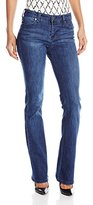 Liverpool Jeans Company Women's Lucy Bootcut 5 Pocket Mid Rise Denim Jean