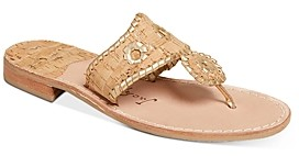 Jack Rogers Napa Valley Cork Thong Sandals