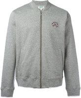 Kenzo zip up sweatshirt - men - Cotton/Polyester - S