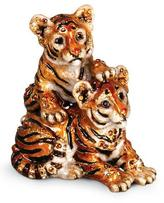 Jay Strongwater Theo & Max Tiger Cubs Figurine