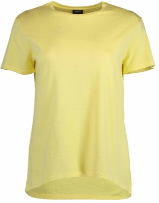 Aspesi Yellow Crewneck T-shirt