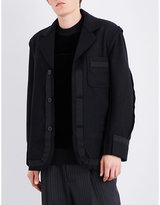 Anglomania Punk It Up wool-blend jacket