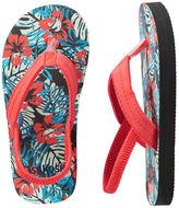 Osh Kosh OshKosh Tropical Print Flip Flops