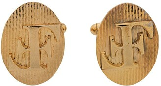 Gianfranco Ferre Pre Owned 2000s monogram cufflinks