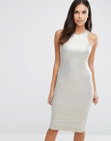 AX Paris Metallic Midi Cami Dress