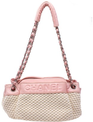 Chanel Pink Rock N Chic Cc Shoulder Bag