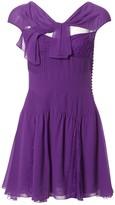 Christian Dior Purple Silk Dress for Women Vintage