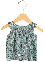 Bonpoint Girls' Sleeveless Floral Print Top