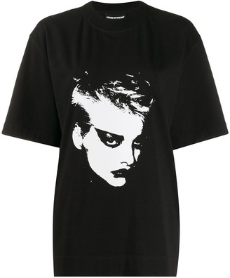 House of Holland face print T-shirt