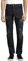 Scotch & Soda Lot 22 Ralston Obsidian Flow Straight Fit Cotton Jeans