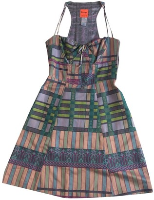 Christian Lacroix Multicolour Cotton Dress for Women Vintage