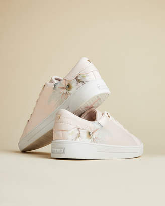 Ted Baker LYLAS Woodland print cupsole trainers