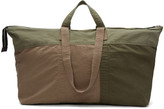 3.1 Phillip Lim Green Oversized Patchwork Field Bag