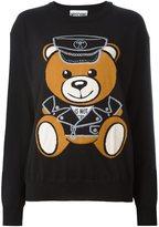 Moschino teddy bear intarsia jumper