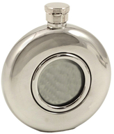 Bey-Berk Rounded Stainless Steel Flask