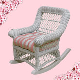 Yesteryear Child's Cotton Rocking Chair