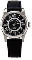 Revue Thommen Women's 104.01.02 Millennium Classic Analog Display Swiss Automatic Black Watch