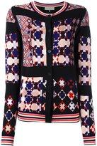 Emilio Pucci mosaic pattern cardigan