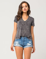 Volcom Stoned Womens Denim Shorts
