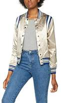 Scotch & Soda Maison Women's Silky Sporty Bomber Jacket Jacket