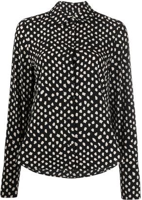 Essentiel Antwerp Van polka-dot shirt