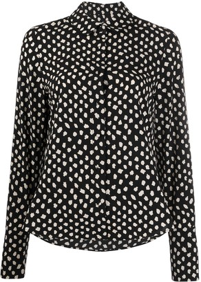 Essentiel Antwerp Van polka-dot shirt