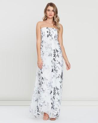 Skiva Strapless Print Maxi Dress