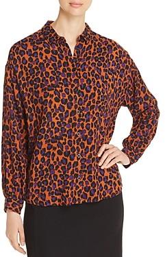 MKT Studio Chigala Noisette Leopard Print Shirt