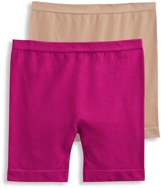 Jockey Girls 4-16 2-Pack Seamfree Playshorts Underwear