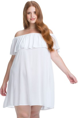 Becca Etc Women's Plus Size Modern Muse Dress Cover up