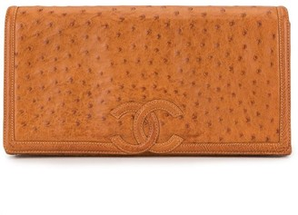 Chanel Pre Owned 1985-1993 CC flap clutch
