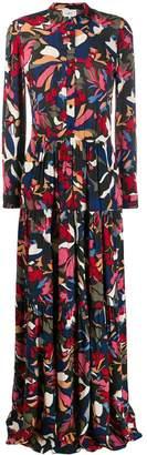 BA&SH Cora maxi shirt dress