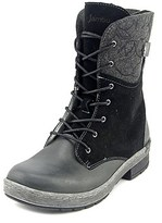Jambu Hemlock Women Round Toe Leather Black Winter Boot.