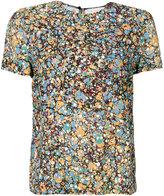 Victoria Beckham abstract print T-shirt