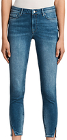 AllSaints Mast Twisted Skinny Jeans, Indigo