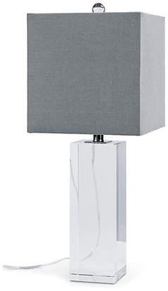 REGINA ANDREW Crystal Block Table Lamp - Clear