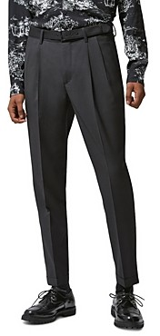 The Kooples Wool Slim Fit Suit Pants