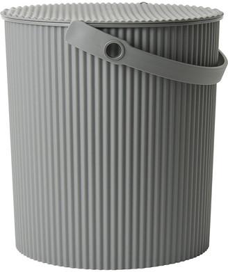 Hachiman - Omnioutil Storage Bucket with Lid - Grey - Large