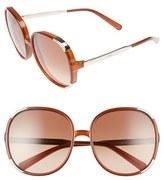 Chloé Women's Myrte 61Mm Sunglasses - Caramel