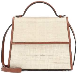 Hunting Season The Top Handle Small raffia tote