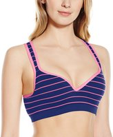 Flex Women's Stripe Push Up Sports Bra