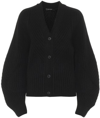 Low Classic Ribbed-knit cardigan