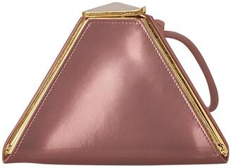 Bottega Veneta pink pyramid bag