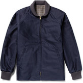 Chimala Reversible Checked Wool and Cotton Jacket