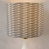 Minted Seafarer Weave Self-Launch Drum Lampshades