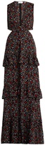 A.L.C. Brie floral-print cut-out silk maxi dress